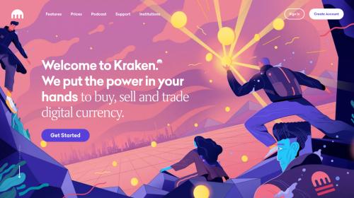 Kraken Bitcoin trading platform